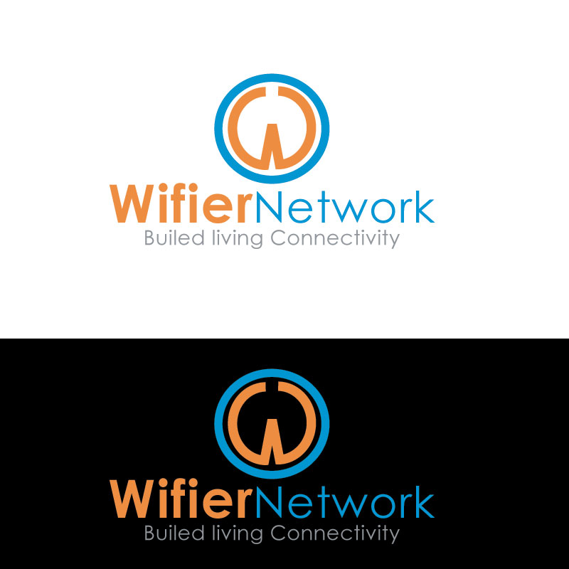Logo Design by Private User - Entry No. 147 in the Logo Design Contest New Logo Design for Wifier Network.