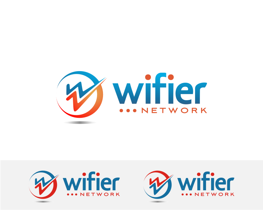 Logo Design by graphicleaf - Entry No. 148 in the Logo Design Contest New Logo Design for Wifier Network.