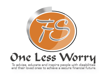 Logo Design by Shab Great - Entry No. 30 in the Logo Design Contest Creative Logo Design for FS - One Less Worry.
