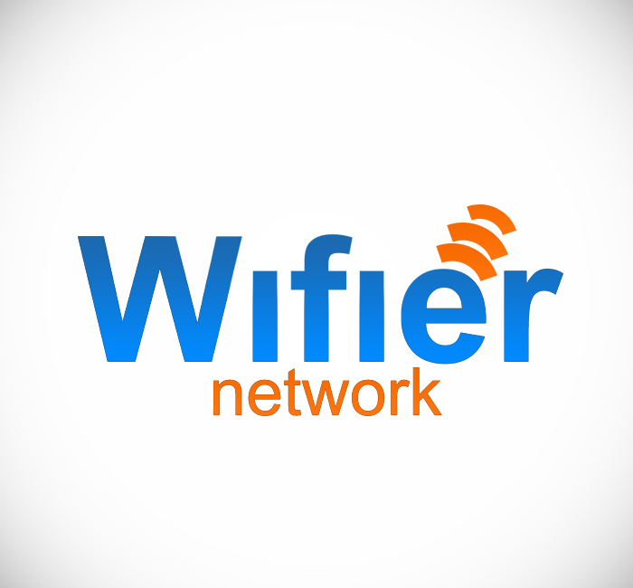 Logo Design by Bobby Yoga P - Entry No. 156 in the Logo Design Contest New Logo Design for Wifier Network.