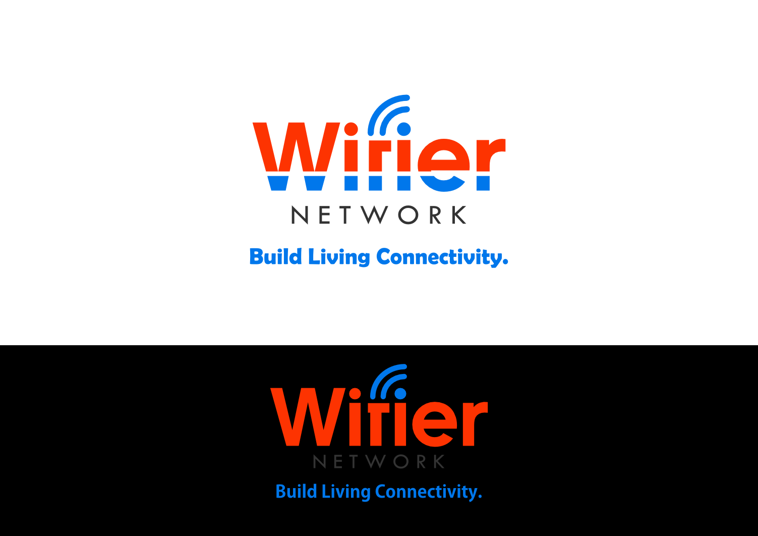 Logo Design by whoosef - Entry No. 159 in the Logo Design Contest New Logo Design for Wifier Network.