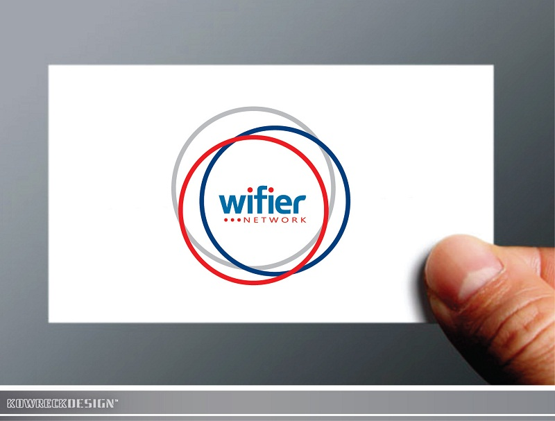 Logo Design by kowreck - Entry No. 160 in the Logo Design Contest New Logo Design for Wifier Network.