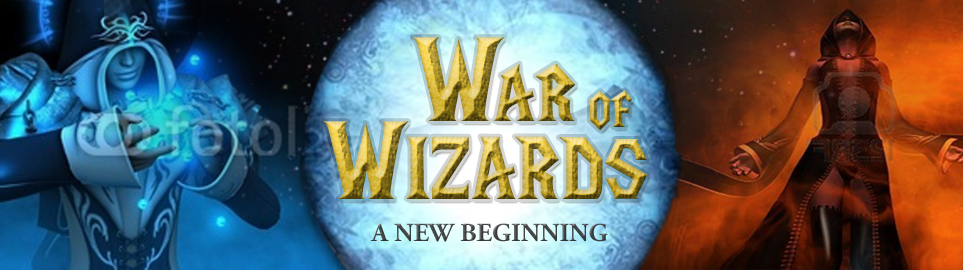 Banner Ad Design by Wade Dupey - Entry No. 74 in the Banner Ad Design Contest Banner Ad Design - War of Wizards (fantasy game).