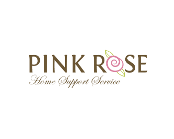 Logo Design by Thinkerthinks - Entry No. 71 in the Logo Design Contest Pink Rose Home Support Services.
