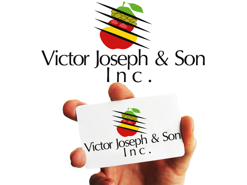 Logo Design by Mythos Designs - Entry No. 71 in the Logo Design Contest Imaginative Logo Design for Victor Joseph & Son, Inc..