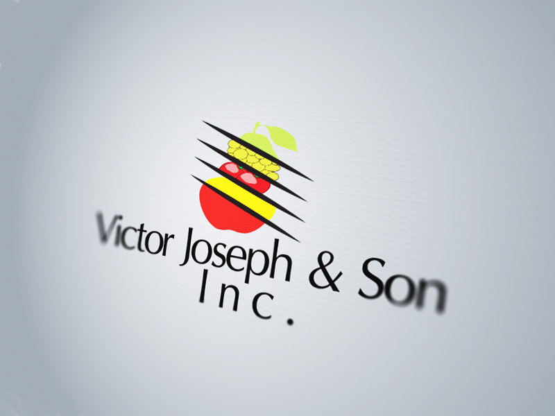 Logo Design by Mythos Designs - Entry No. 72 in the Logo Design Contest Imaginative Logo Design for Victor Joseph & Son, Inc..