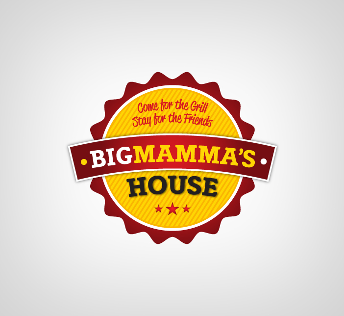 Logo Design by Dimitris Koletsis - Entry No. 26 in the Logo Design Contest Captivating Logo Design for Big Mamma's House.