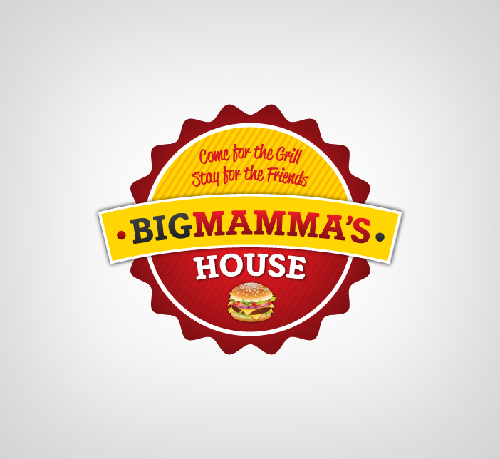 Logo Design by Dimitris Koletsis - Entry No. 27 in the Logo Design Contest Captivating Logo Design for Big Mamma's House.