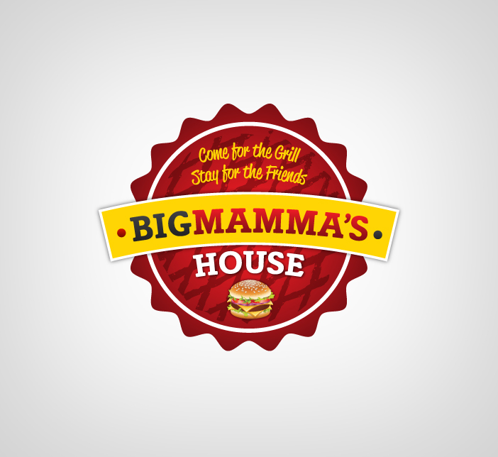 Logo Design by Dimitris Koletsis - Entry No. 28 in the Logo Design Contest Captivating Logo Design for Big Mamma's House.