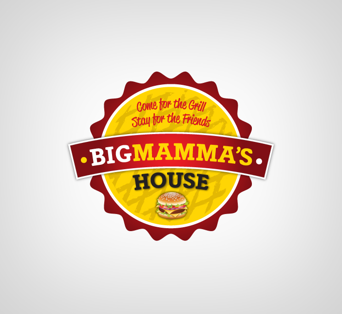 Logo Design by Dimitris Koletsis - Entry No. 29 in the Logo Design Contest Captivating Logo Design for Big Mamma's House.