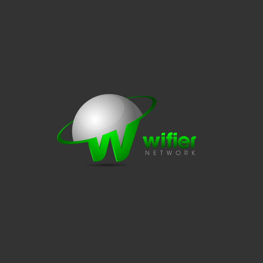 Logo Design by zesthar - Entry No. 168 in the Logo Design Contest New Logo Design for Wifier Network.