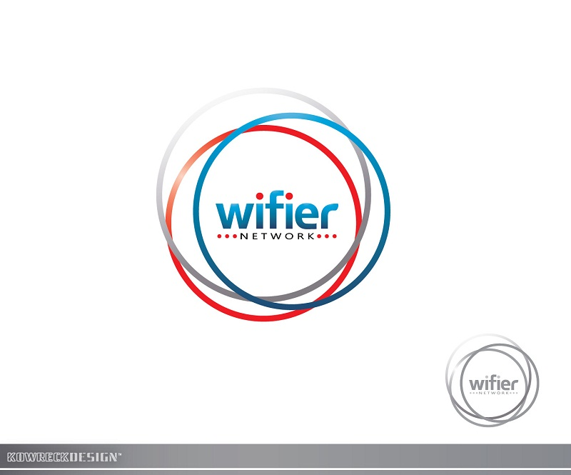 Logo Design by kowreck - Entry No. 169 in the Logo Design Contest New Logo Design for Wifier Network.