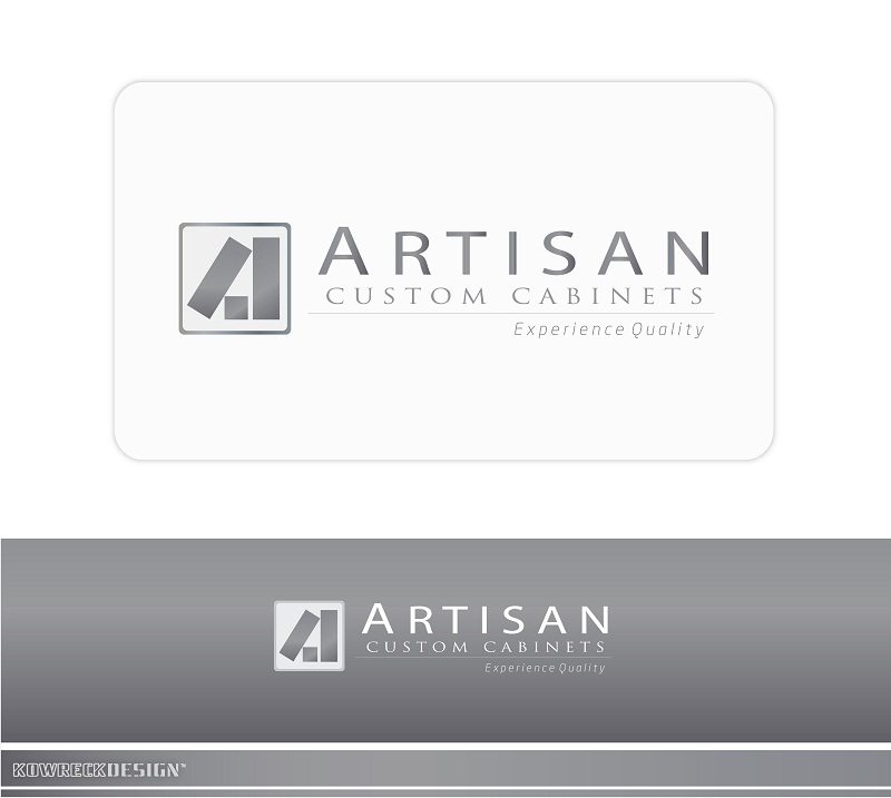 Logo Design by kowreck - Entry No. 126 in the Logo Design Contest Creative Logo Design for Artisan Custom Cabinets.
