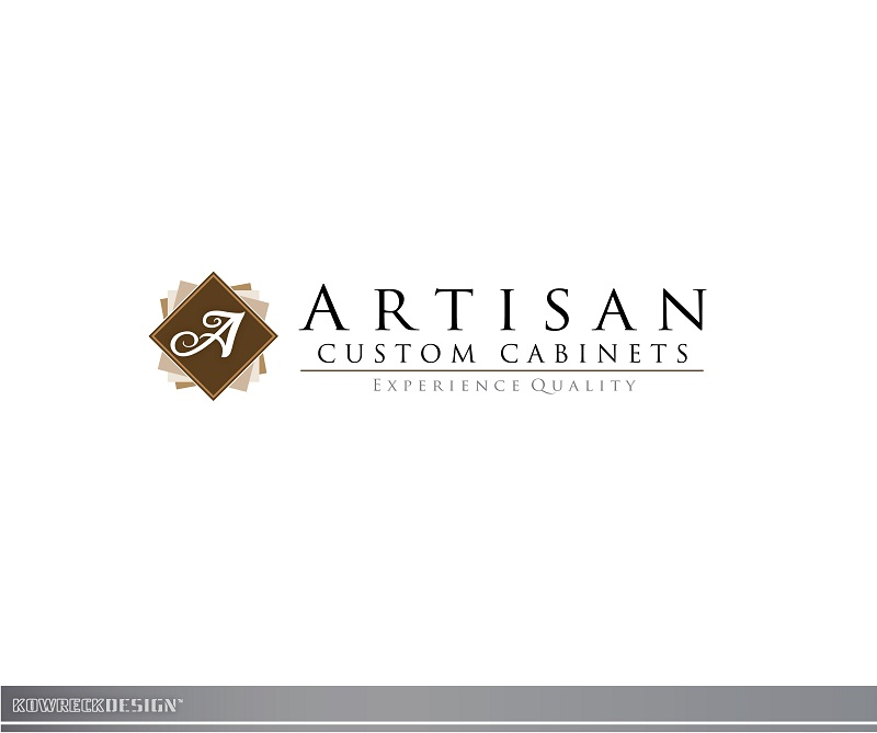 Logo Design by kowreck - Entry No. 130 in the Logo Design Contest Creative Logo Design for Artisan Custom Cabinets.