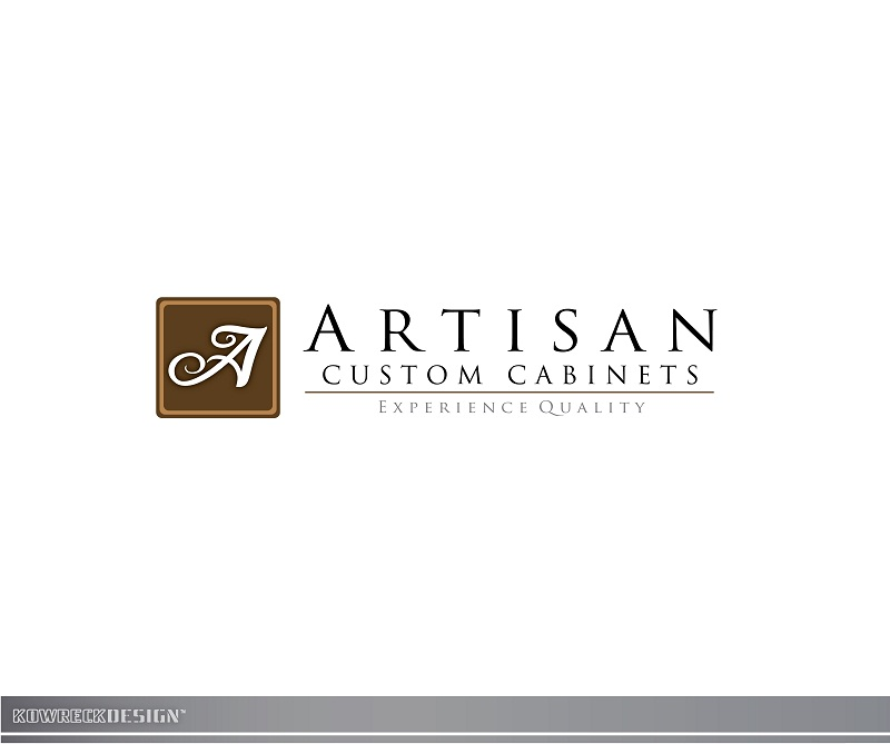 Logo Design by kowreck - Entry No. 131 in the Logo Design Contest Creative Logo Design for Artisan Custom Cabinets.