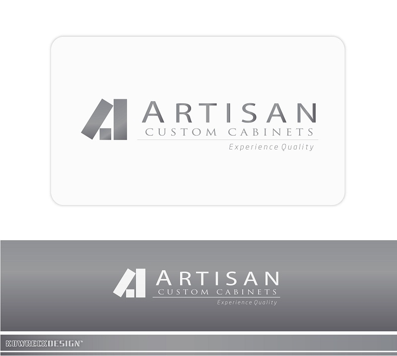 Logo Design by kowreck - Entry No. 132 in the Logo Design Contest Creative Logo Design for Artisan Custom Cabinets.