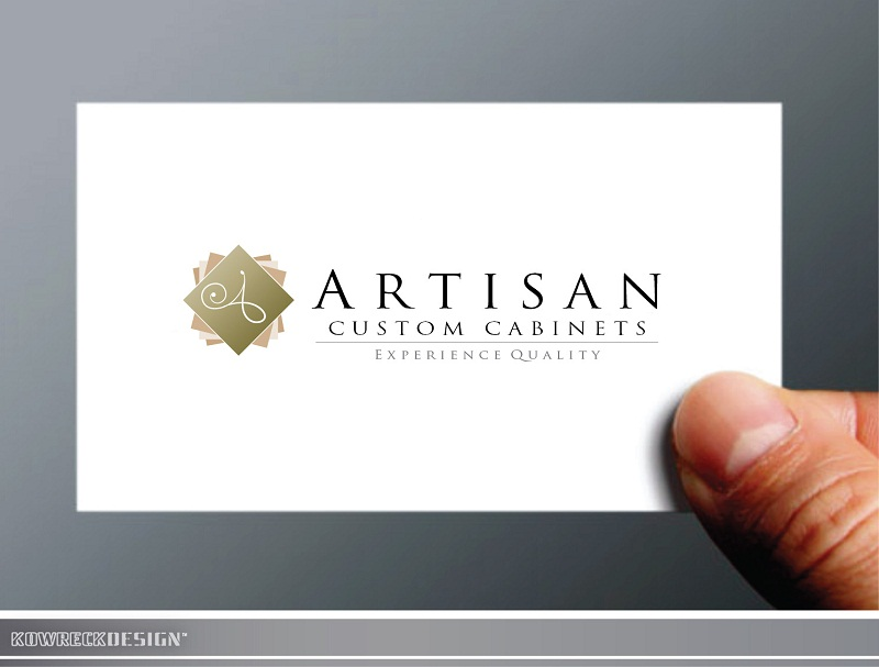 Logo Design by kowreck - Entry No. 133 in the Logo Design Contest Creative Logo Design for Artisan Custom Cabinets.