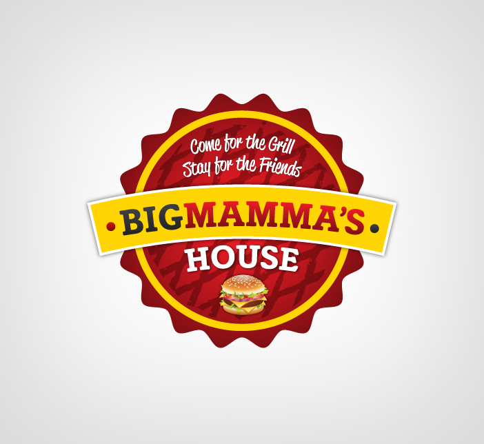 Logo Design by Dimitris Koletsis - Entry No. 33 in the Logo Design Contest Captivating Logo Design for Big Mamma's House.
