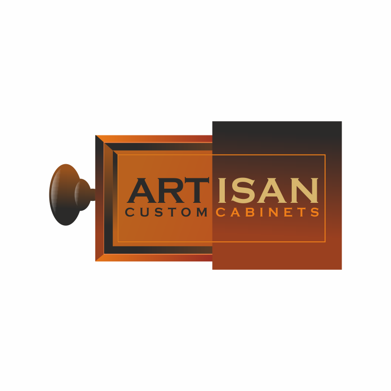 Logo Design by montoshlall - Entry No. 134 in the Logo Design Contest Creative Logo Design for Artisan Custom Cabinets.