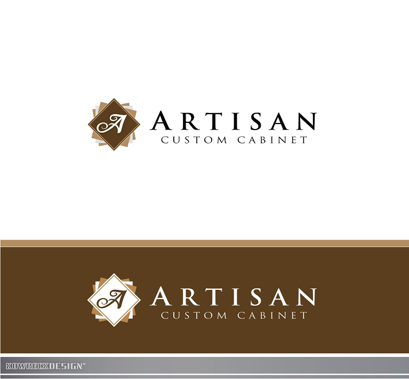 Logo Design by kowreck - Entry No. 135 in the Logo Design Contest Creative Logo Design for Artisan Custom Cabinets.