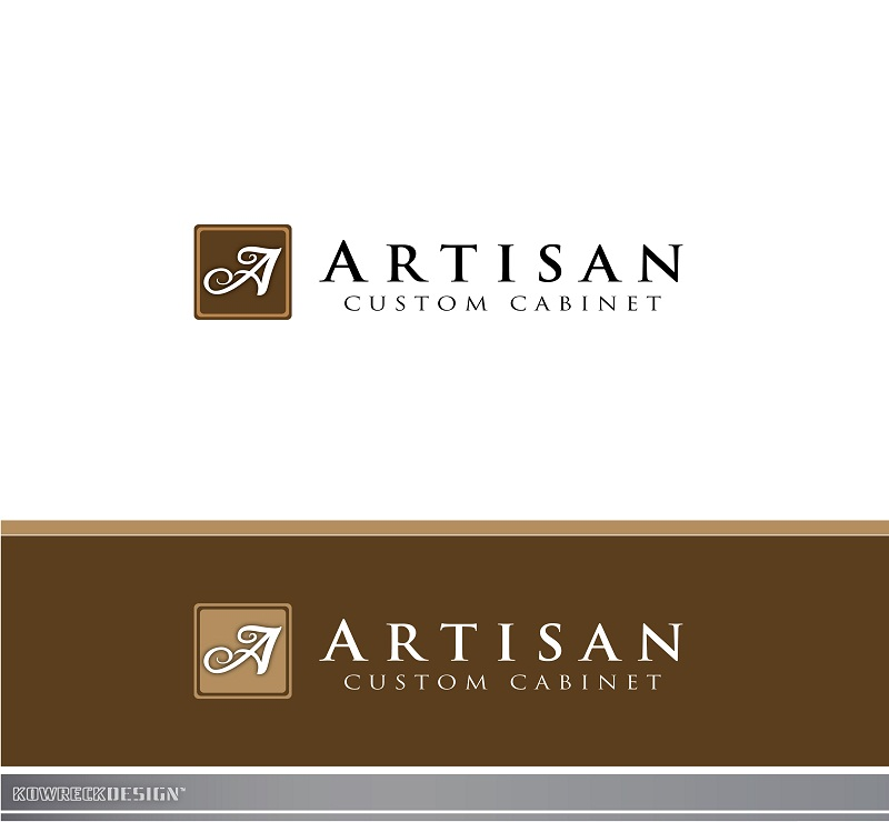 Logo Design by kowreck - Entry No. 136 in the Logo Design Contest Creative Logo Design for Artisan Custom Cabinets.