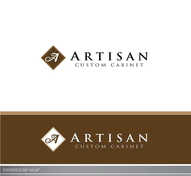 Logo Design by kowreck - Entry No. 137 in the Logo Design Contest Creative Logo Design for Artisan Custom Cabinets.