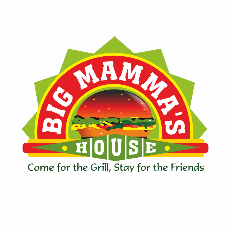 Logo Design by montoshlall - Entry No. 40 in the Logo Design Contest Captivating Logo Design for Big Mamma's House.