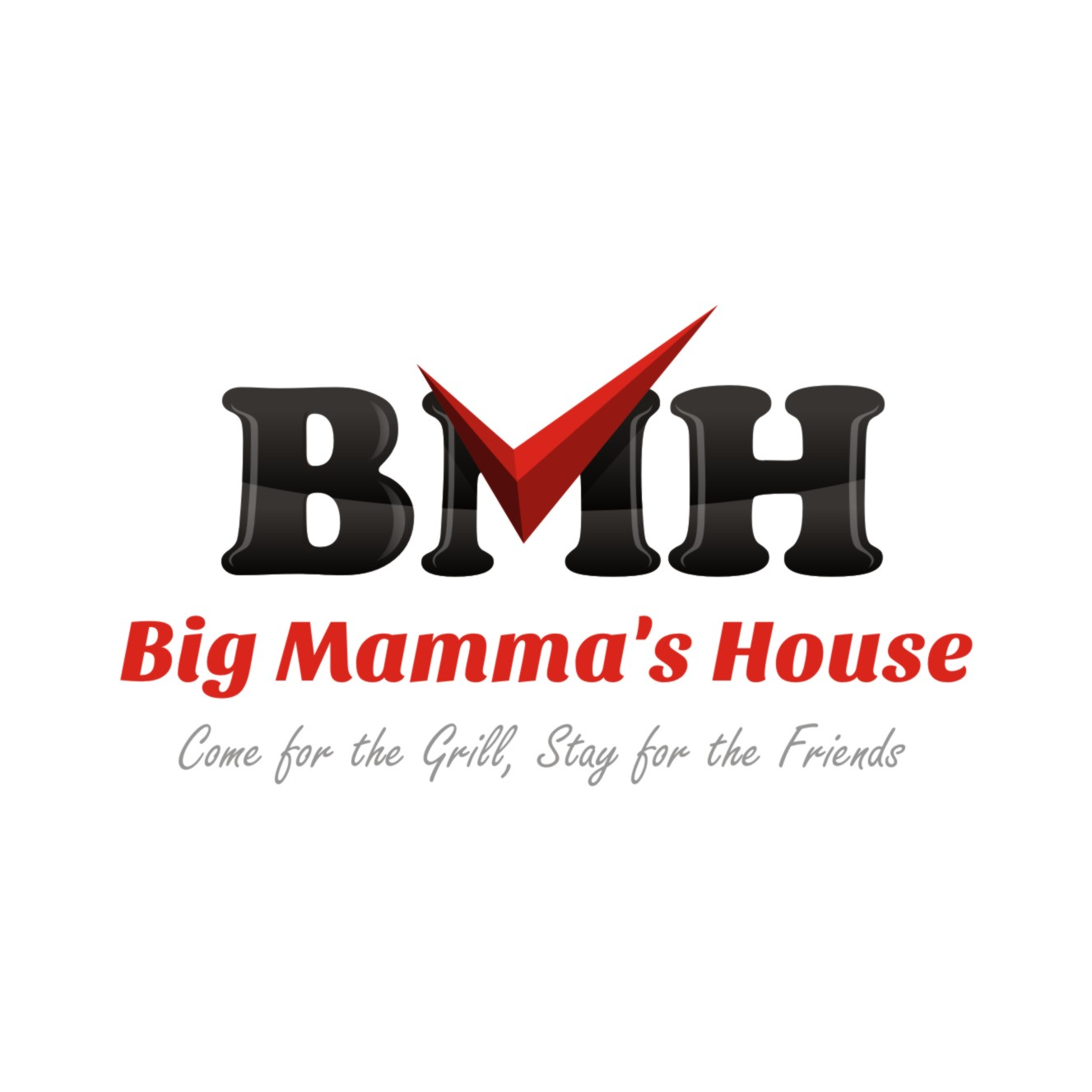 Logo Design by Private User - Entry No. 41 in the Logo Design Contest Captivating Logo Design for Big Mamma's House.