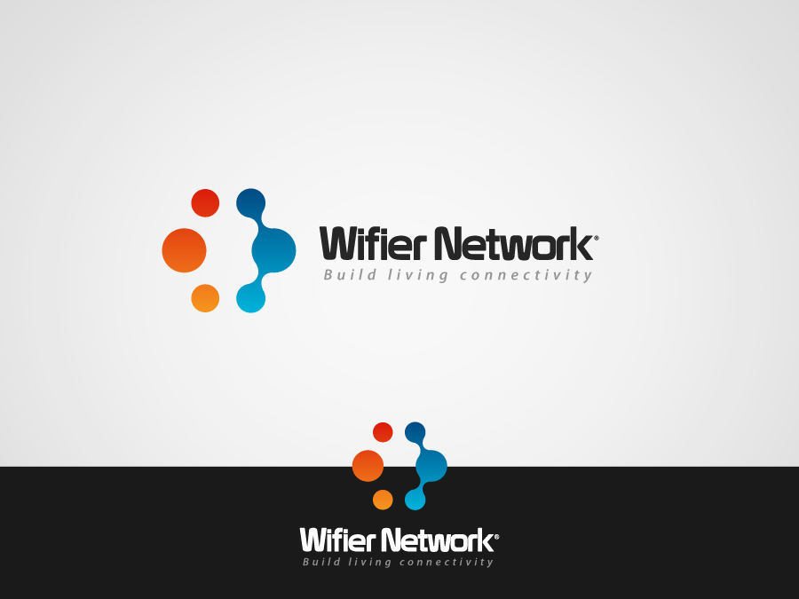 Logo Design by jpbituin - Entry No. 176 in the Logo Design Contest New Logo Design for Wifier Network.