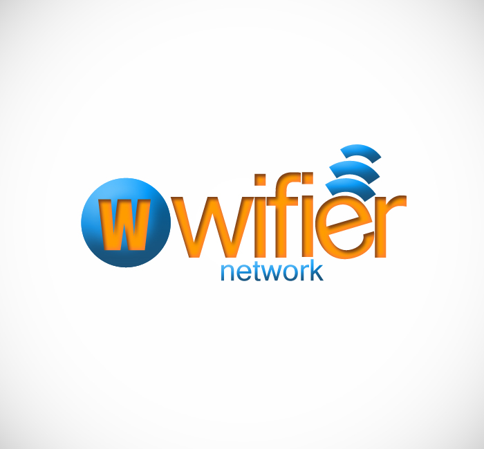 Logo Design by Bobby Yoga P - Entry No. 179 in the Logo Design Contest New Logo Design for Wifier Network.