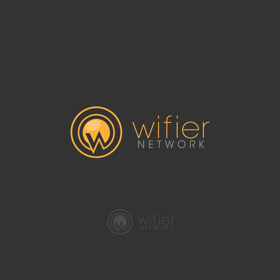 Logo Design by zesthar - Entry No. 182 in the Logo Design Contest New Logo Design for Wifier Network.
