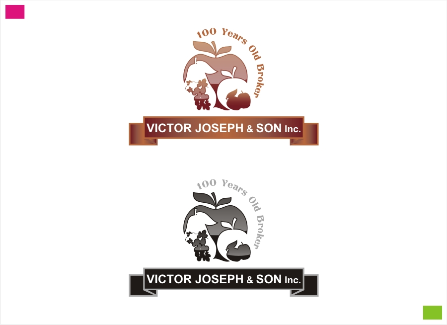 Logo Design by Private User - Entry No. 81 in the Logo Design Contest Imaginative Logo Design for Victor Joseph & Son, Inc..