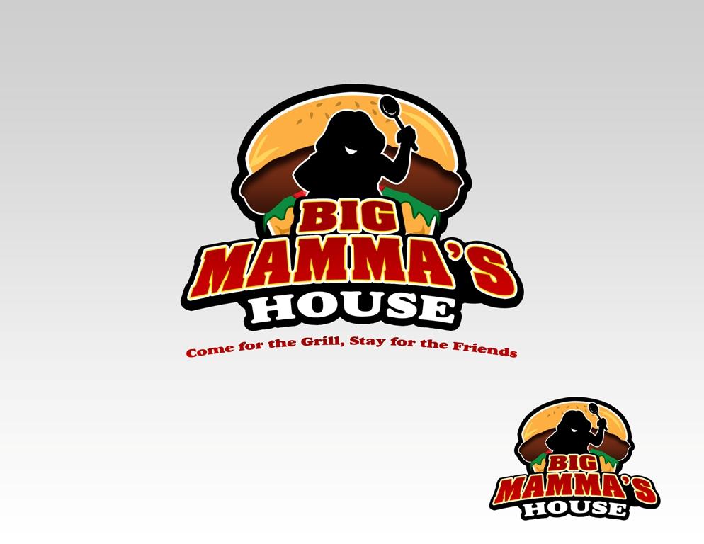 Logo Design by Juan_Kata - Entry No. 43 in the Logo Design Contest Captivating Logo Design for Big Mamma's House.