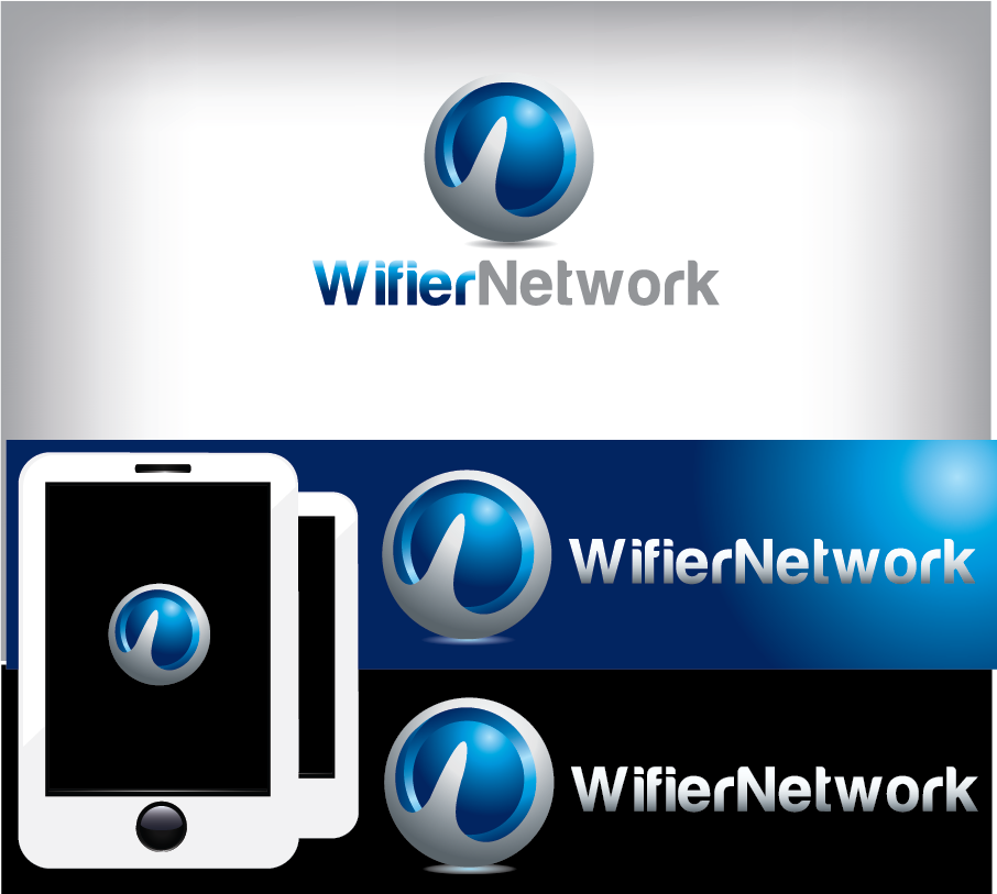 Logo Design by Private User - Entry No. 187 in the Logo Design Contest New Logo Design for Wifier Network.