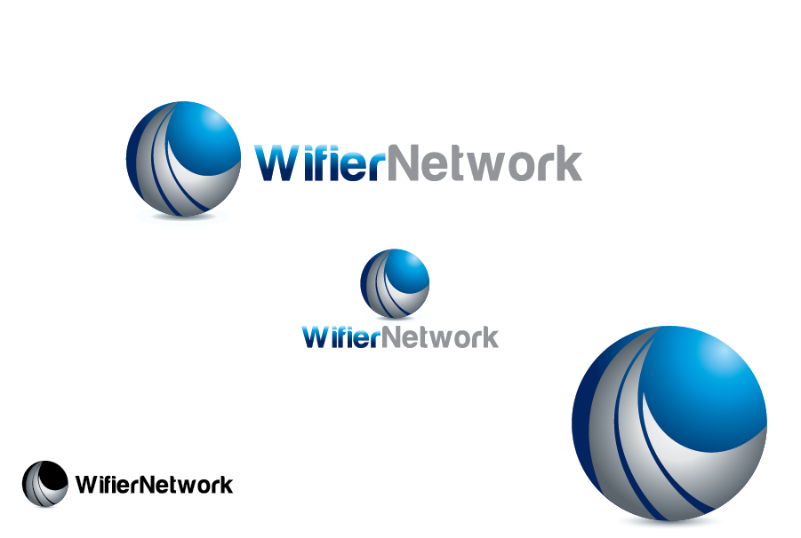 Logo Design by Private User - Entry No. 188 in the Logo Design Contest New Logo Design for Wifier Network.