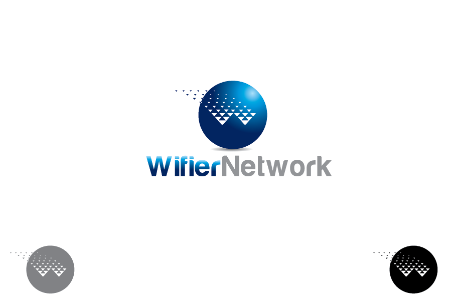 Logo Design by Private User - Entry No. 190 in the Logo Design Contest New Logo Design for Wifier Network.