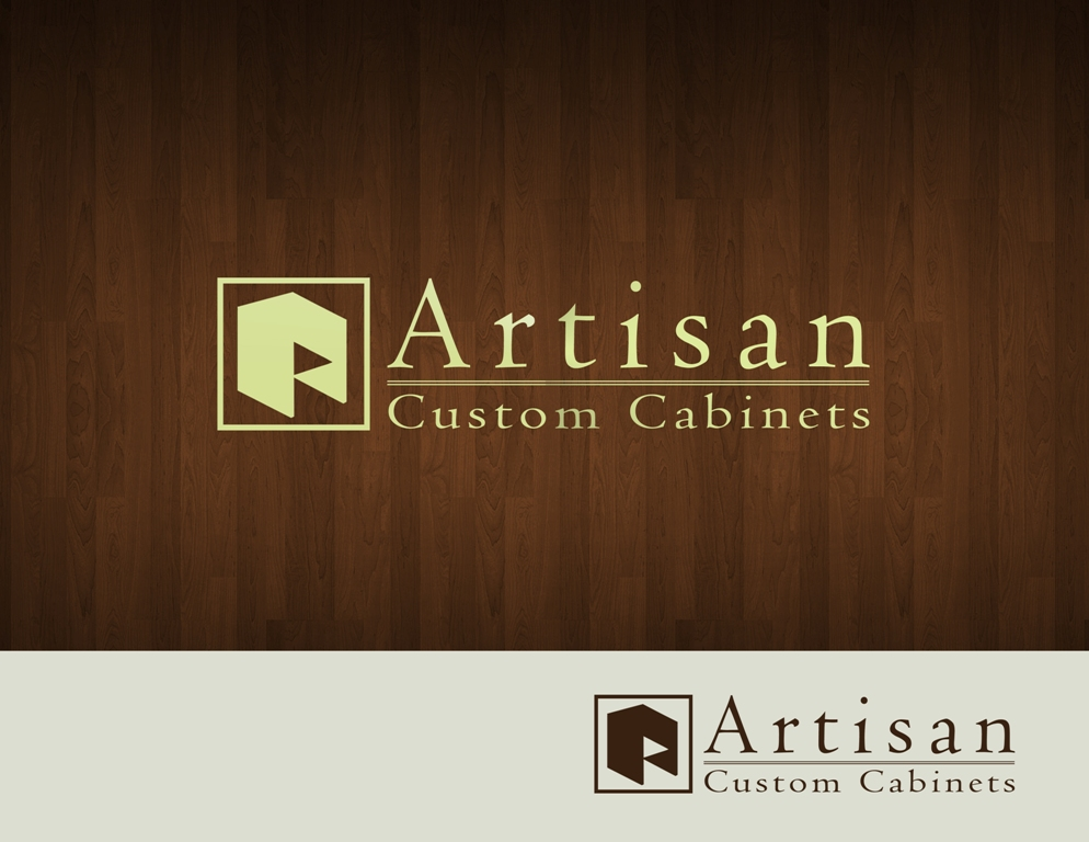 Logo Design by Juan_Kata - Entry No. 153 in the Logo Design Contest Creative Logo Design for Artisan Custom Cabinets.