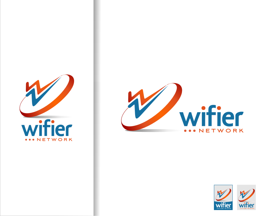 Logo Design by graphicleaf - Entry No. 192 in the Logo Design Contest New Logo Design for Wifier Network.