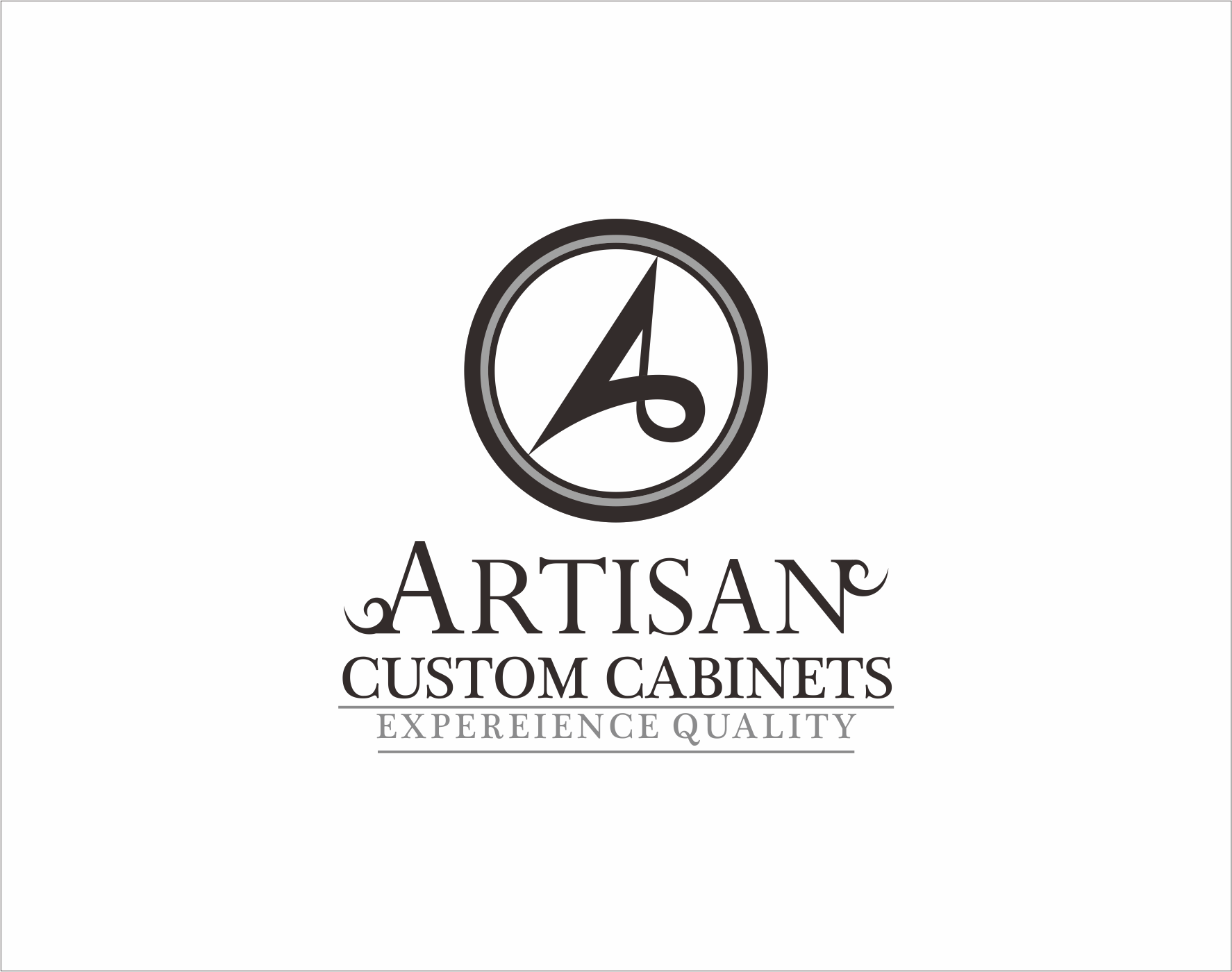 Logo Design by Armada Jamaluddin - Entry No. 154 in the Logo Design Contest Creative Logo Design for Artisan Custom Cabinets.