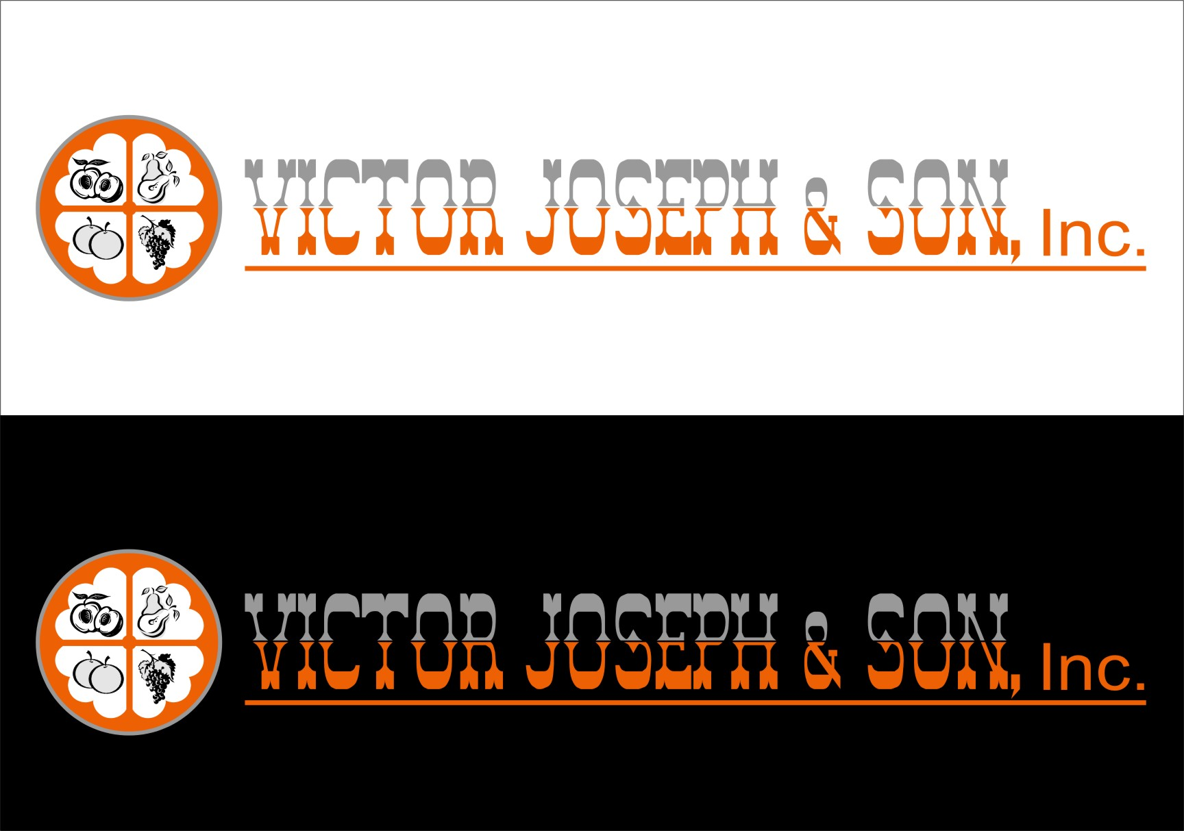 Logo Design by RasYa Muhammad Athaya - Entry No. 83 in the Logo Design Contest Imaginative Logo Design for Victor Joseph & Son, Inc..