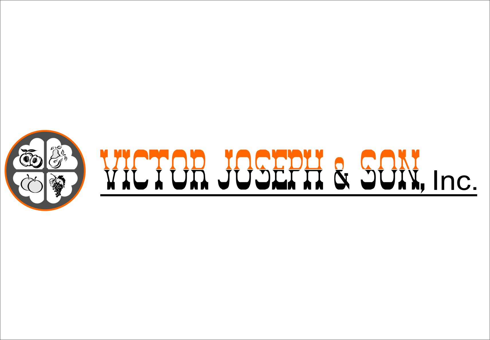 Logo Design by RasYa Muhammad Athaya - Entry No. 84 in the Logo Design Contest Imaginative Logo Design for Victor Joseph & Son, Inc..