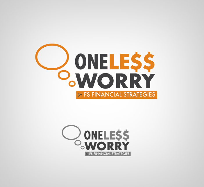 Logo Design by nausigeo - Entry No. 39 in the Logo Design Contest Creative Logo Design for FS - One Less Worry.