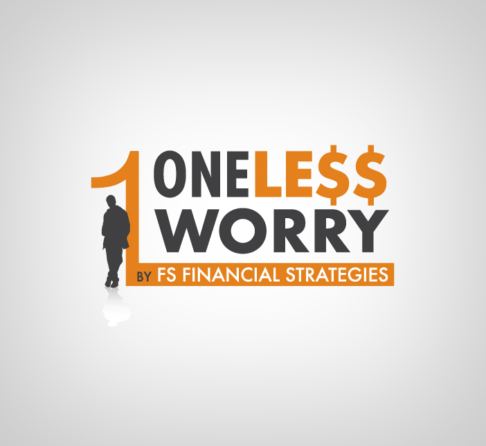 Logo Design by nausigeo - Entry No. 40 in the Logo Design Contest Creative Logo Design for FS - One Less Worry.