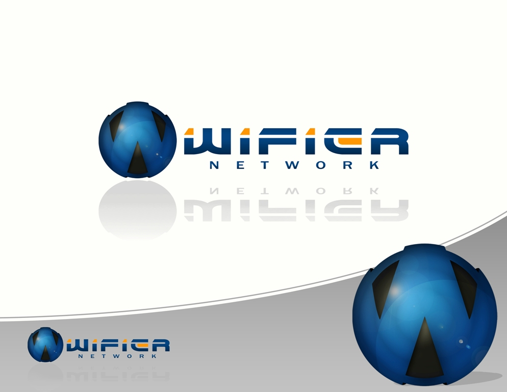 Logo Design by Juan_Kata - Entry No. 203 in the Logo Design Contest New Logo Design for Wifier Network.