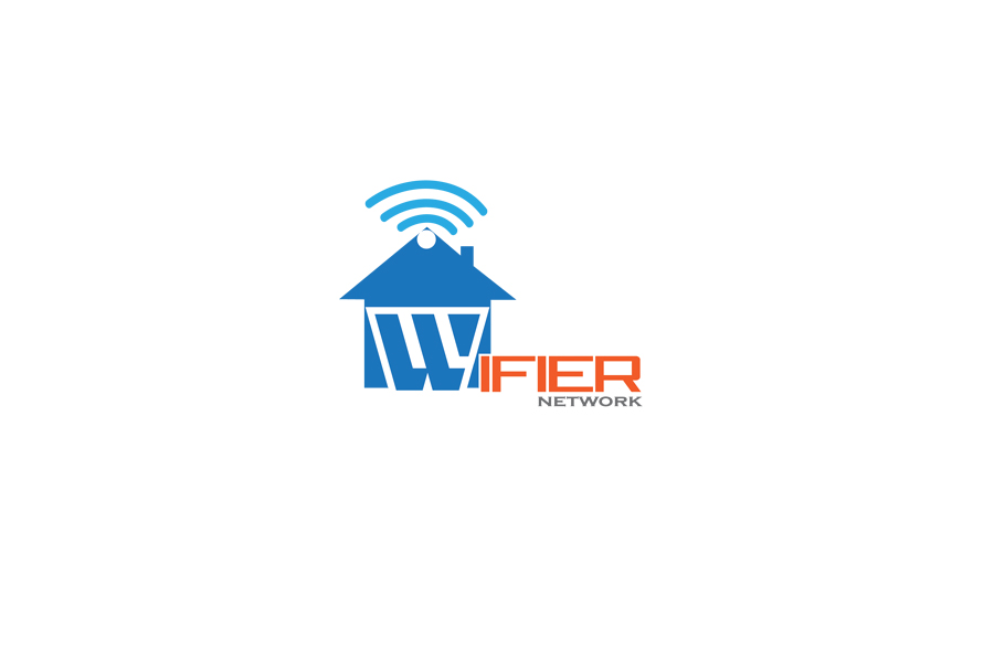 Logo Design by Mark Estabillo - Entry No. 204 in the Logo Design Contest New Logo Design for Wifier Network.