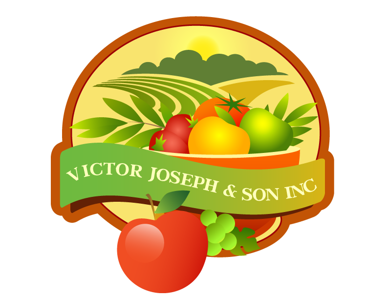 Logo Design by Nadia Khan - Entry No. 88 in the Logo Design Contest Imaginative Logo Design for Victor Joseph & Son, Inc..