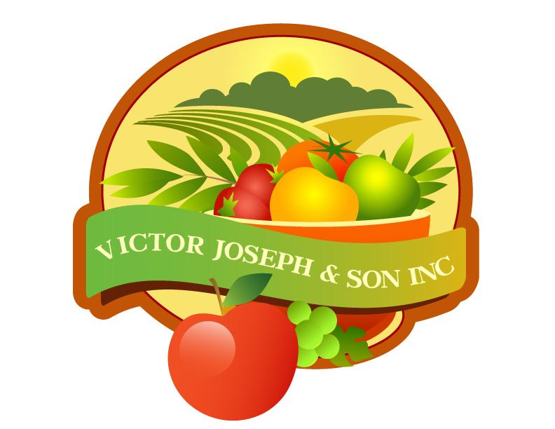 Logo Design by Nadia Khan - Entry No. 88 in the Logo Design Contest Imaginative Logo Design for Victor Joseph & Son, Inc..