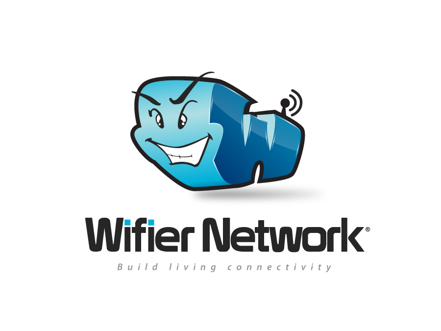 Logo Design by jpbituin - Entry No. 205 in the Logo Design Contest New Logo Design for Wifier Network.