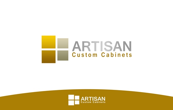 Logo Design by Respati Himawan - Entry No. 158 in the Logo Design Contest Creative Logo Design for Artisan Custom Cabinets.