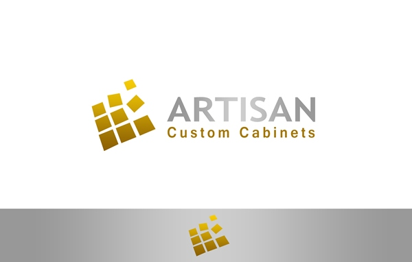 Logo Design by Respati Himawan - Entry No. 159 in the Logo Design Contest Creative Logo Design for Artisan Custom Cabinets.